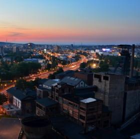Podvečerní Ostrava