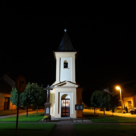Kaple svatého Vavřince v Žabčicích
