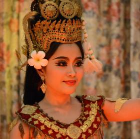 Kambodža-tanečnice