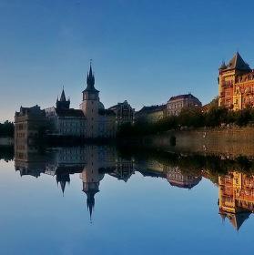 Praha z vody