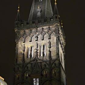 Praha ve tmě
