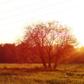Podzimní západ