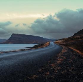 Silnice Hvalfardarvegur, ISland
