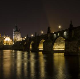 Karlův most - odvrácená strana