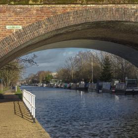 """""""Zarámovaný"""" Bridgewater Canal"""