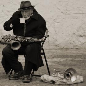 Jazzman v Praze