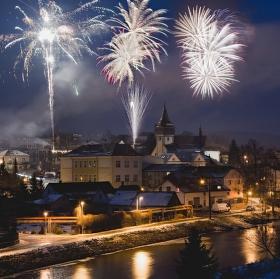 Novoroční ze Světlé nad Sázavou
