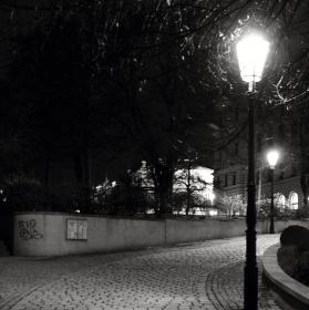 Pražské pouliční lampy