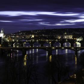 Pražské mosty..