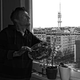 Malíř Martin Velíšek