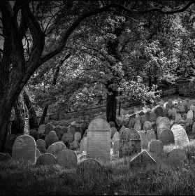 Řady hrobů v zákrytu, ....