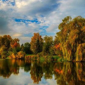 Podzim na Gebech