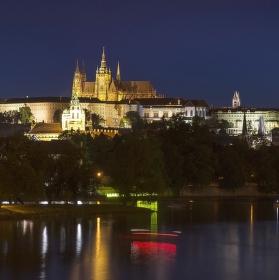 Večer v Praze