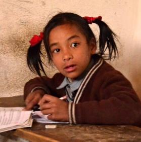 Škola po nepálsku