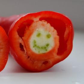 paprikový smajlík