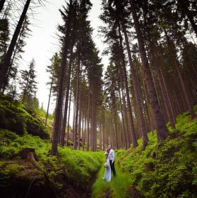 Svatba České Švýcarsko