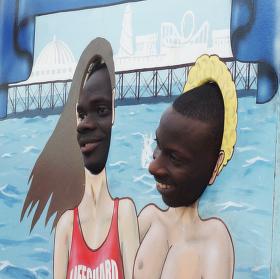 Radost na Brighton Pier