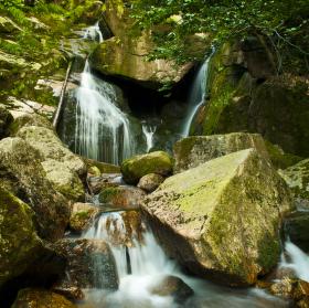 Černé vodopády