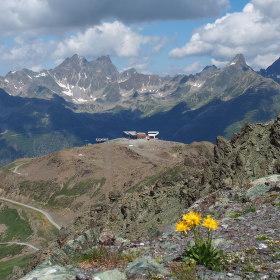 rakousko - švýcarské pomezí