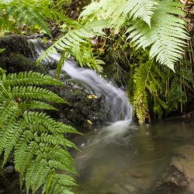 Žabnický vodopádek
