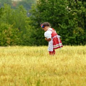 Chodské děvčátko