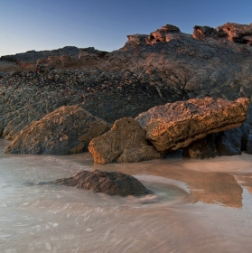 Tolcarne beach...