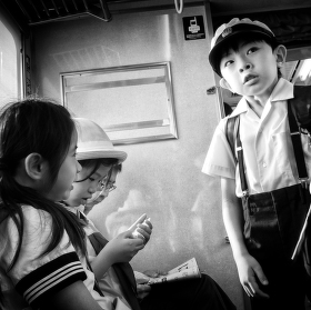 Japonští školáci