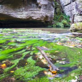 Podzim v Českém Švýcarsku
