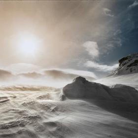 výbuch slunce nad Petrovými kameny...