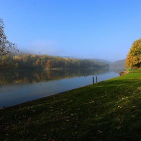 sobotní ráno na podzim