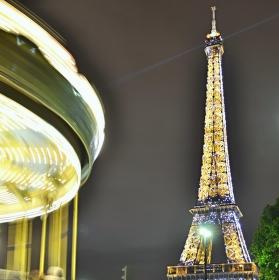 noční Paris