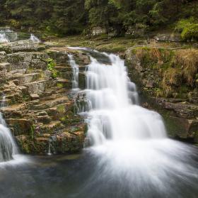 Velký vodopád Bílého Labe