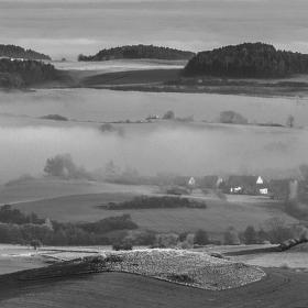 Šumava - v mlze