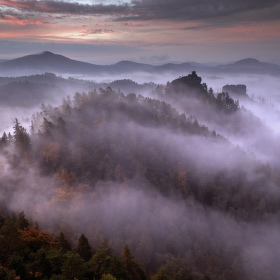 Krajina s mlhou