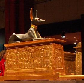 Poklad krále Tutanchamona v Brně