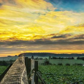 Karasín předposlední západ slunce  roku 2015