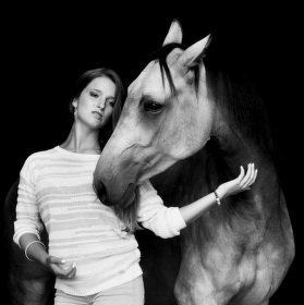 Horse and beauty