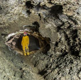 I toto je jeskyně.
