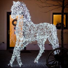 Vánoční kůň