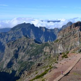 Cesta na Pico do Arieiro , Madeira