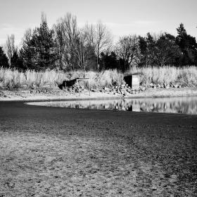 Vypuštěný rybník