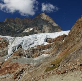 Valpelline - Ledovcový splaz Tsa de Tsan