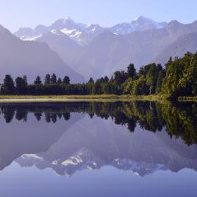 Zrcadlení na Zélandu
