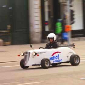 Zajímavé auto z Vídně
