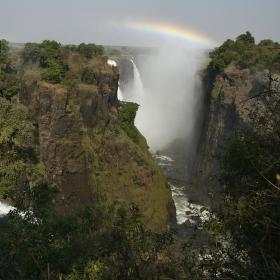 Duha nad Zambezi