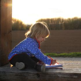 malá umělkyně