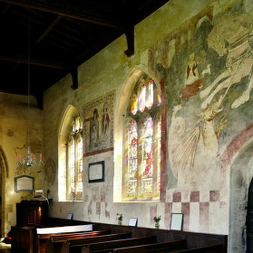 Anglikánský kostel z 13.století  St. Lawrence's  Church