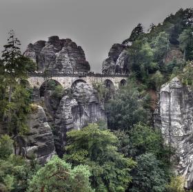 Skalní hrad Bastei