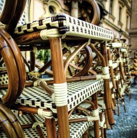 židle na odpočinku