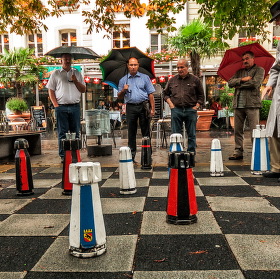 Šachová partie v Bernu